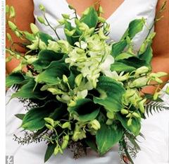 bouquet green calla