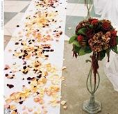 Have Florist Decorate Wedding Cake