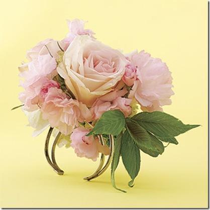 brides pink wrist