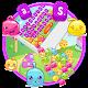 Colorful Jelly Blast Keyboard Theme APK