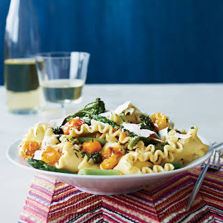 Spring Pasta with Blistered Cherry Tomatoes.