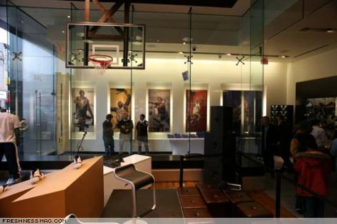Event recap 111907 Nike House of Hoops launch party
