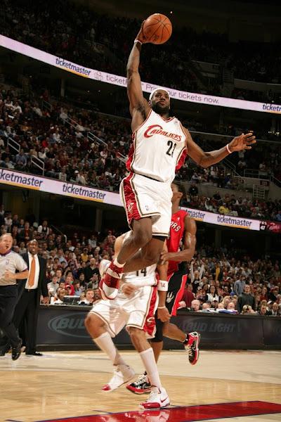 200708 NBA Season CLE vs TOR 3rd TripleDouble