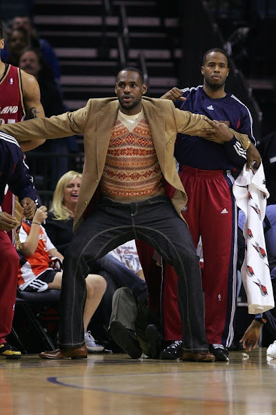 LeBron James is expected to play tonight against the Pacers