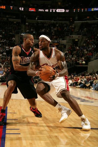 200708 NBA Season CLE at NJN vs PHI Cavs drop two more