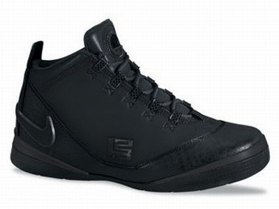 Two new upcoming LeBron 2008 releases Black ZLV Low and ZLSII