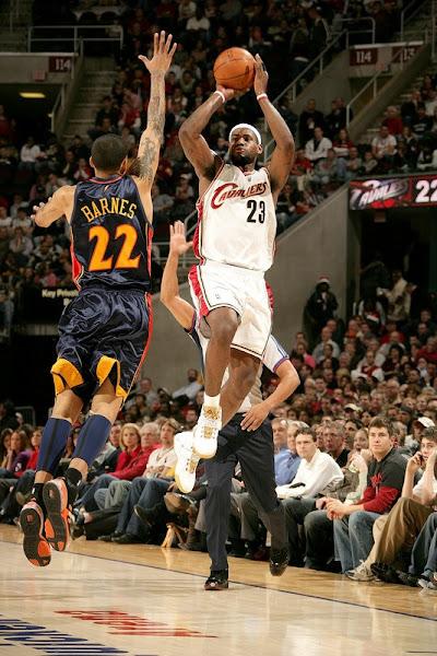 200708 NBA Season CLE vs GSW MIA at DAL Cavs go for 21
