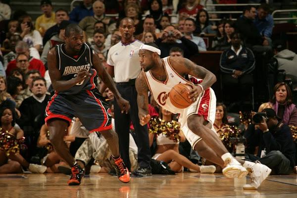 200708 NBA Season CLE vs CHA at MEM Extra work pays off
