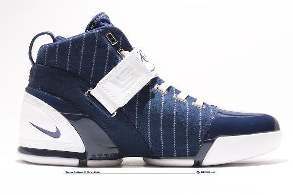 6251b2d95a75 Nike Zoom LeBron V New York Yankees Showcase ...