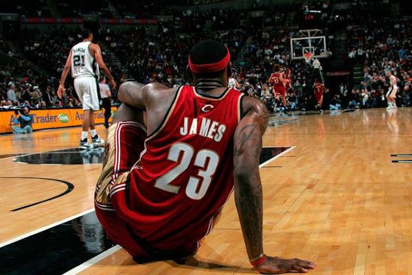200708 NBA Season CLE at SAS Sweet Redemption