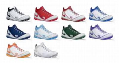 New Nike Zoom LeBron Soldier II Team Banks