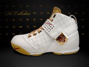 82e8b5bd3d95 New Nike Zoom LeBron V White and Gold wallpaper ...