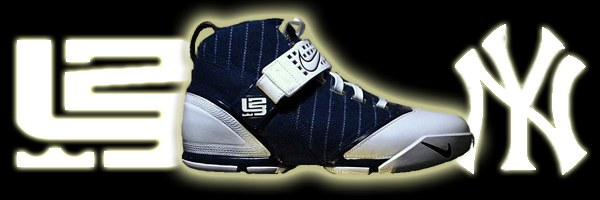 Yankees Nike Zoom LeBron V is in the News