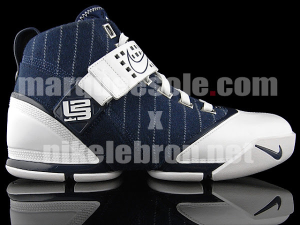 An exclusive look at the Yankees Nike Zoom LeBron V