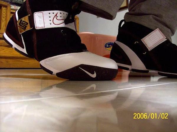 Nike Zoom LeBron V BlackWhiteRed Detailed Look
