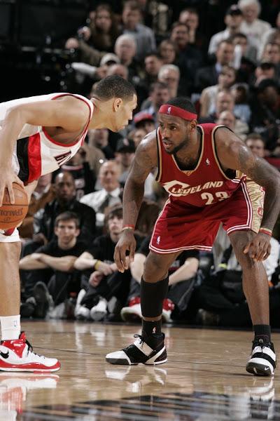 200708 NBA Season CLE at POR SEA Mr Fourth Quarter