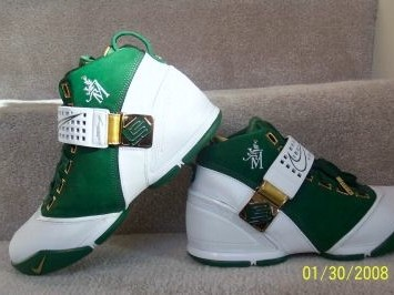 New Nike Zoom LeBron V St Vincent St Mary PE