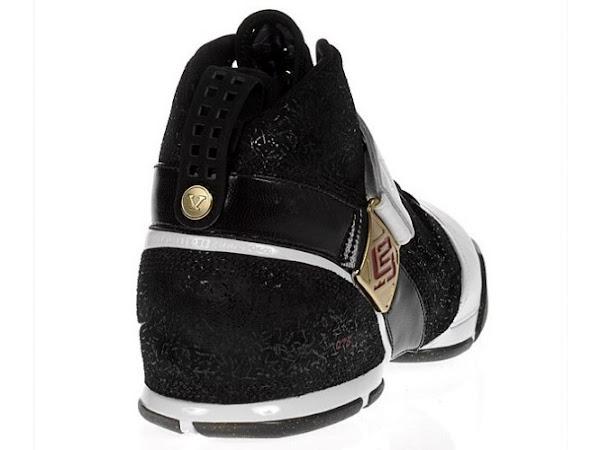 Nike Zoom LeBron V BlackWhiteRed SAMPLE Detailed Look