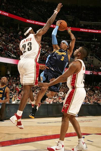 200708 NBA Season CLE vs DEN at ORL vs SAS AllStar Break