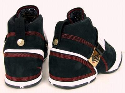 Nike Zoom LeBron V Black White and Red Showcase