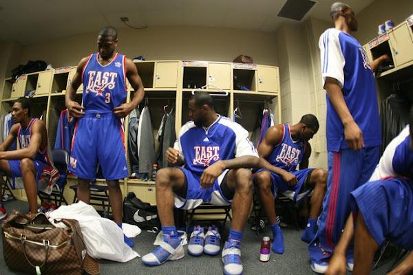 NBA AllStar 2008 New Orleans Photo Recap AllStar Game