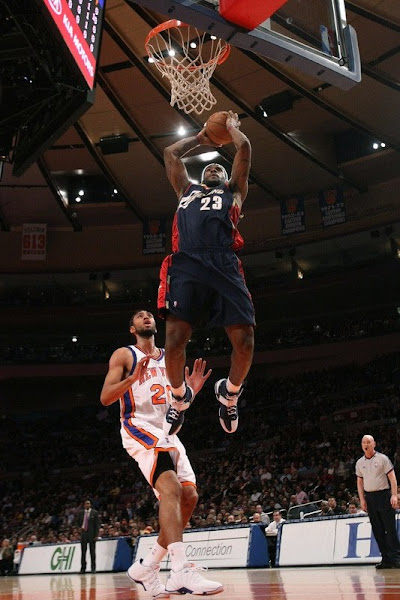 LeBron James scored FIFTY as he introduced the Yankees LeBron 5 at Madison Square Garden New York