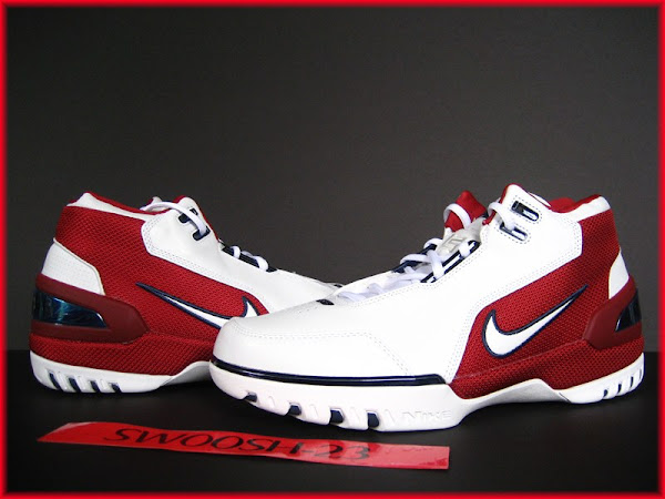30598c7f39e Nike LeBron James Air Zoom Generation First Game ...
