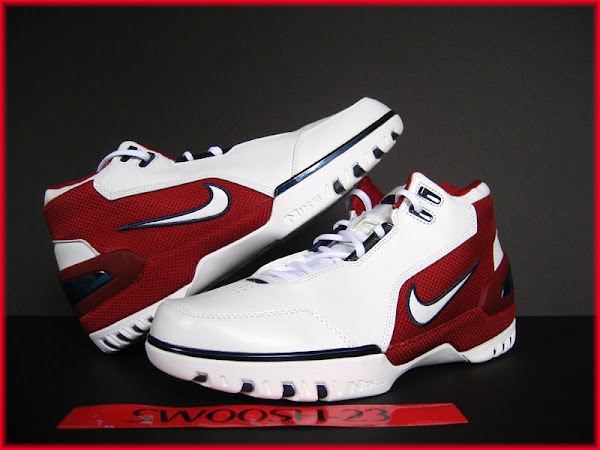... Nike LeBron James Air Zoom Generation First Game ... b1bb6c996b84