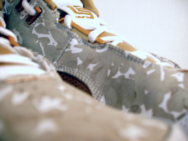 Nike Air Zoom Generation Special Gold and Camo Sample