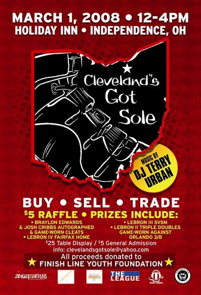 Cleveland8217s Got Sole Sneaker Exhibition