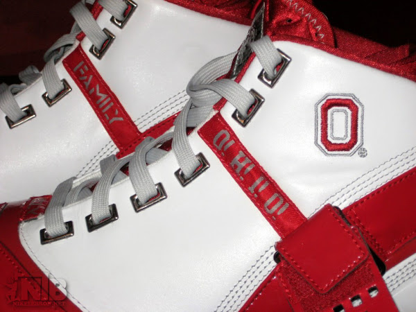 LeBron 5 Ohio State University Home Player Exclusive