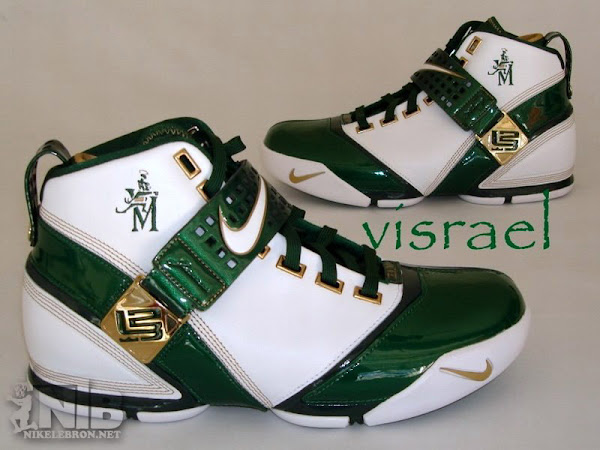 Very first look at the Zoom LeBron V SVSM Home PE