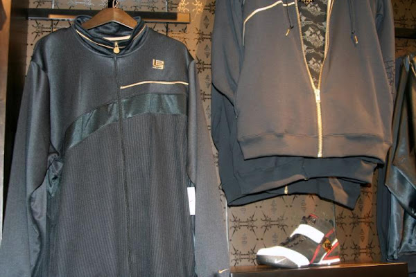 Nike LeBron Apparel available at NYC House of Hoops