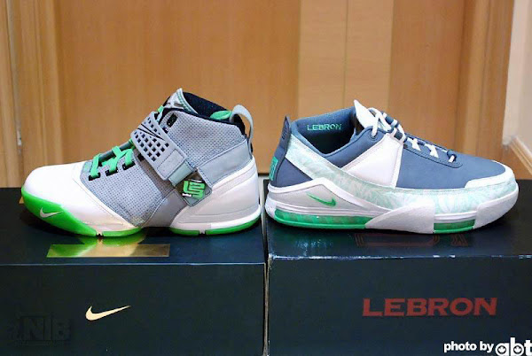 ABT8217s Completed Nike Zoom LeBron Dunkman Collection