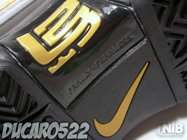 LeBron Soldier White Black and Gold Ultimate Showcase