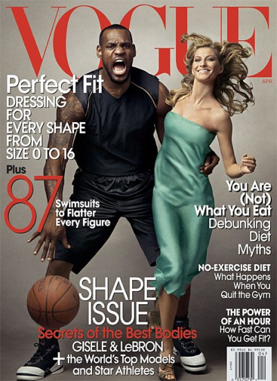 LeBron James to appear on Vogue8217s cover