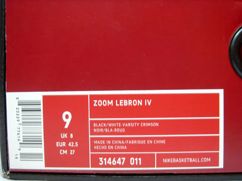 bba47e5a0a7e2 ZLIV box label should look similar to the ones below [ZOOM LEBRON IV].  There are also two examples of how should the correct shoe box look like.