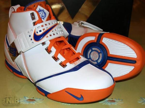 Hardwood Classic Nike Zoom LeBron V Second Look