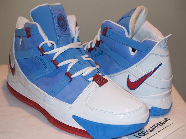 Nike Zoom LeBron III Houston Oilers PE