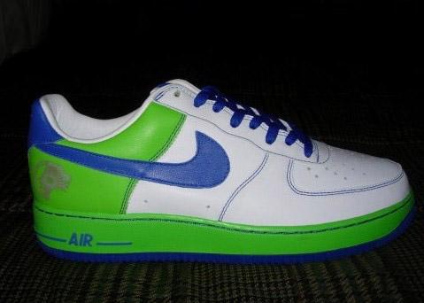 Nike Air Force 1 LeBron listing update