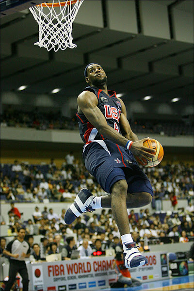 LeBron decided to play for the US national team