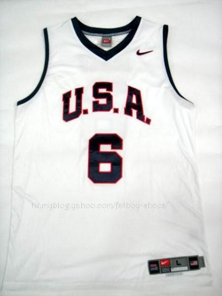 New 2007 USA Basketball jerseys
