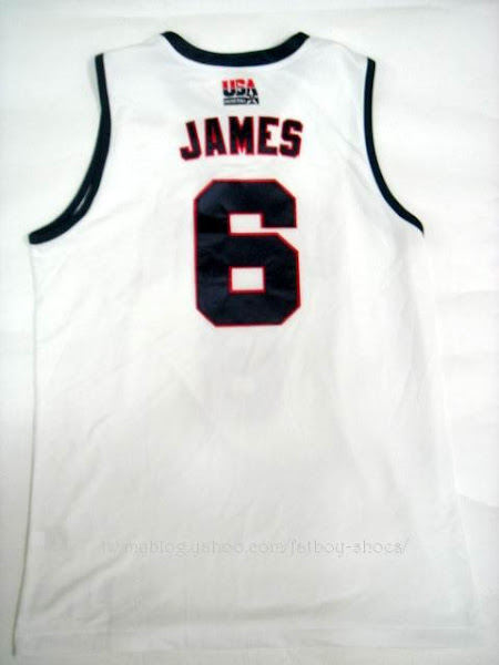 big sale 79cc4 5ae7f New 2007 USA Basketball jerseys   NIKE LEBRON - LeBron ...