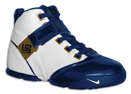 Nike LeBron V WhiteNavy catalog picture