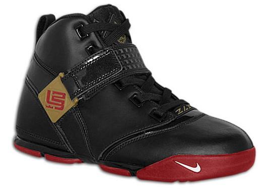 Nike LeBron V BlackRed catalog picture