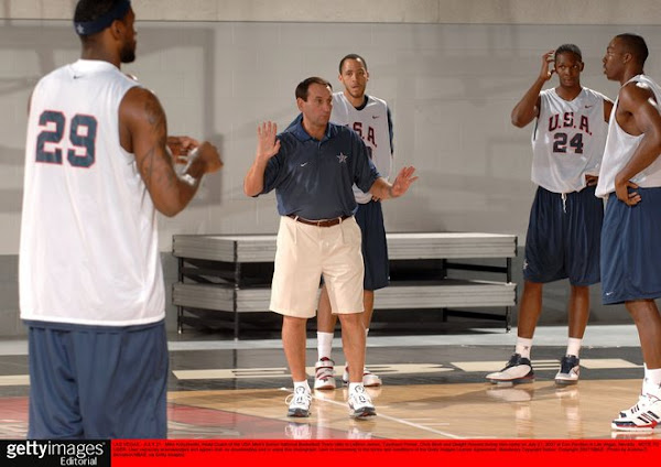 USA Basketball Team mini camp SF Challenge