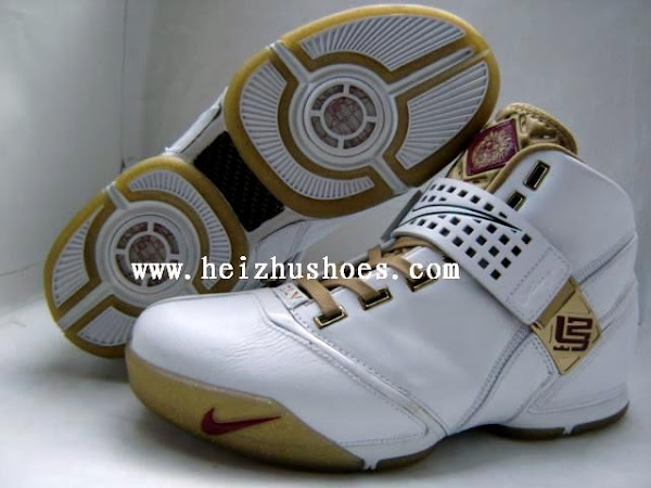 Two new Nike Zoom LeBron V samples
