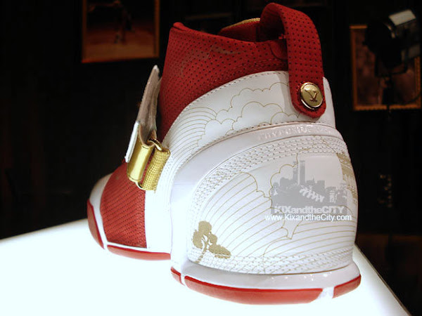 Nike Zoom LeBron V China edition showcase