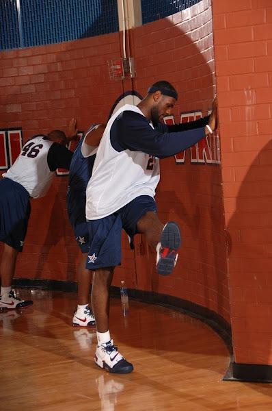 USA Basketball Team training camp day one