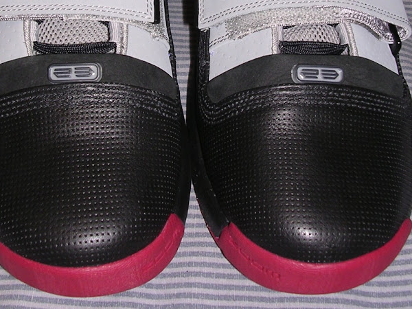 A look at the Black Gray and Red LeBron Soldier